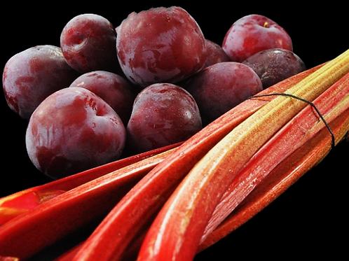 Plum & Rhubarb