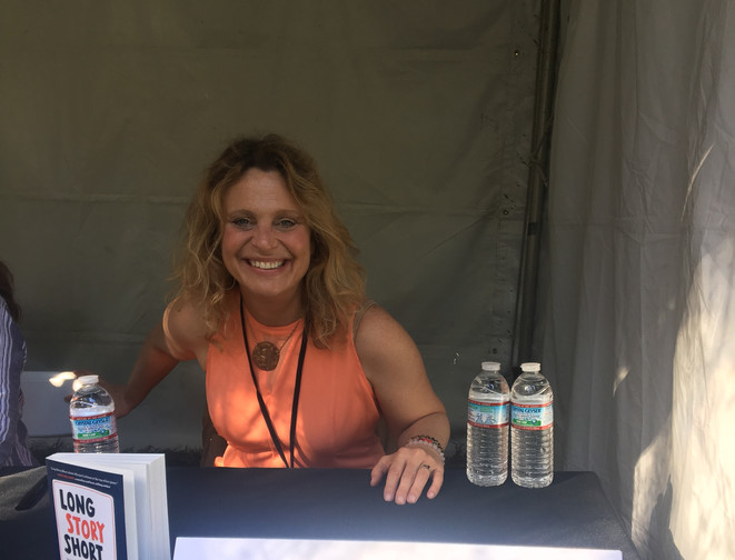 Margot at the LA Times Festival of Books!