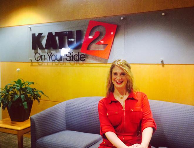 Margot appearing on KATU2