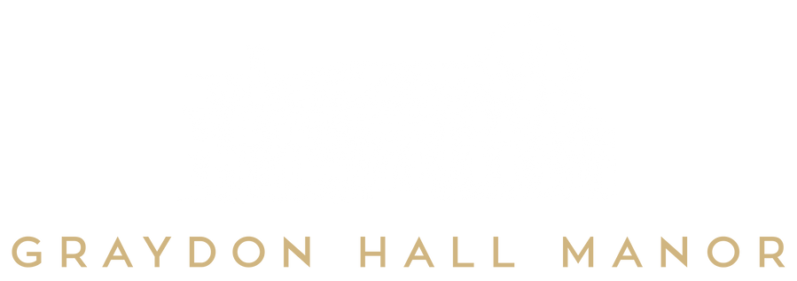 Graydon Hall Manor Logo - Colour Reverse