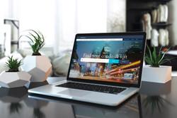 Strata Website MacBook
