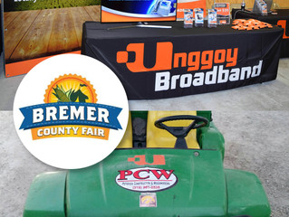 Unggoy Broadband worked 'outside the box' providing sponsorship for the Bremer County Fair