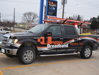 Our Service Truck gets a Makeover!