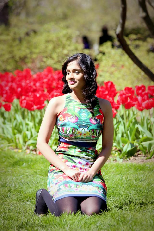 Tulips Garden :: Camouflage Dress