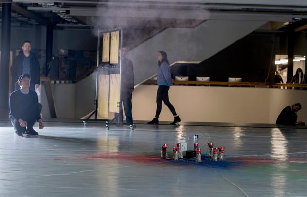 Performance zu Skrjabin Foto: Nadja Giger