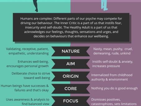 HEALTHY ADULT VS. INNER CRITIC