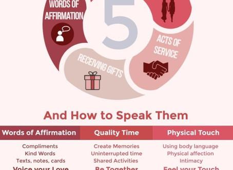 OUR FIVE LOVE LANGUAGES