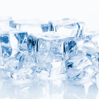 Los bloques de hielo