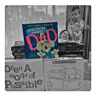 Hughesy's books.jpg