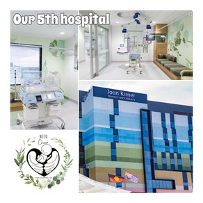 5 Hospitals >> 250 Gift-bags