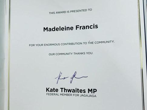 Federal Govt Award