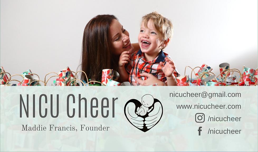NICU Cheer