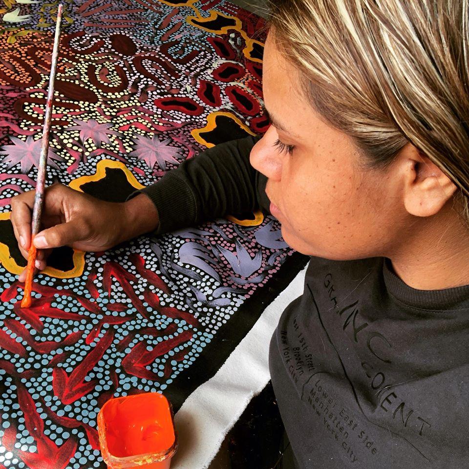 Khatija Possum Art
