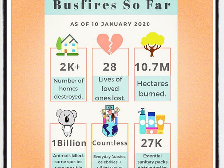 Bushfire Appeal still going strong, but we need more help!
