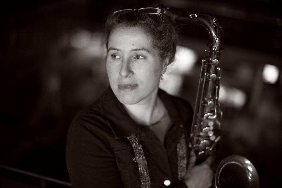 Davina Pearl saxophone player bandleader live music Ottawa