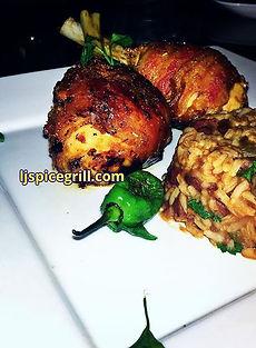 redbeans & rice_#bacon #chickenlegs #lol