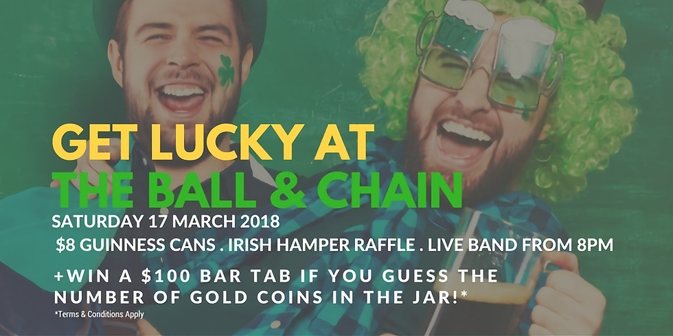 Get Lucky at The Ball & Chain