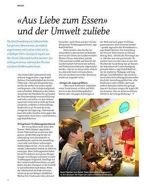Blickpunkt_191 Ausstellung aus Liebe zum