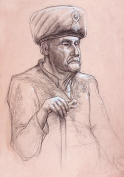 Horace Portrait Turkish Sultan