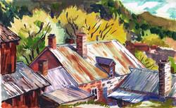 Belmont Nevada tin roofs