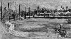Golf Range & Tractor