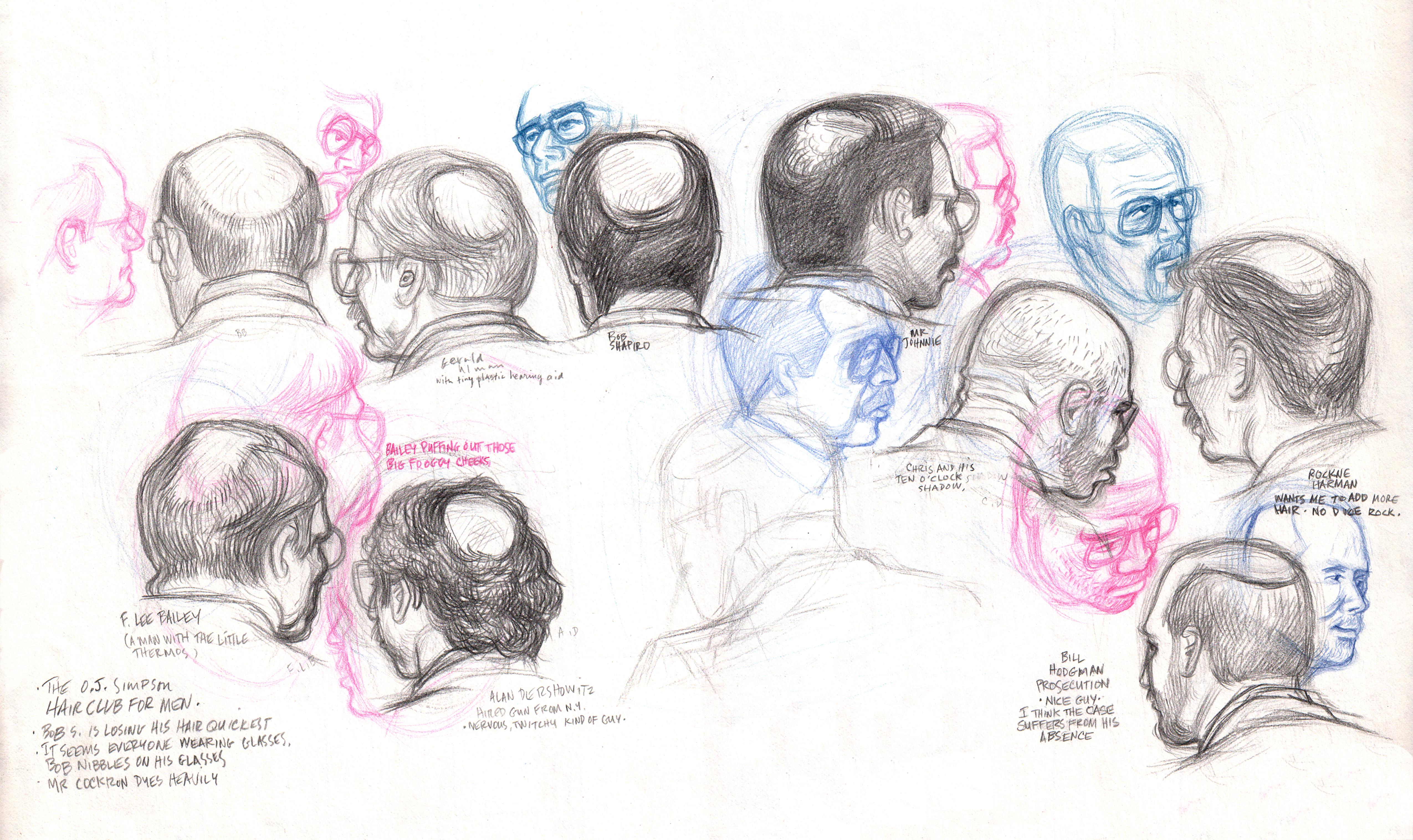 OJ Hair Club 4 Men- everyone is bald