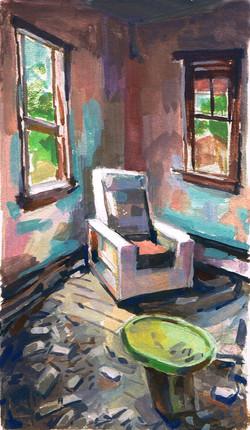 Wyoming Shack & Chair