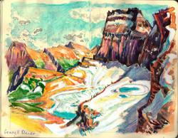 Grinnell Glacier & Peak GNP