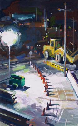 Venice Metro tractor & light
