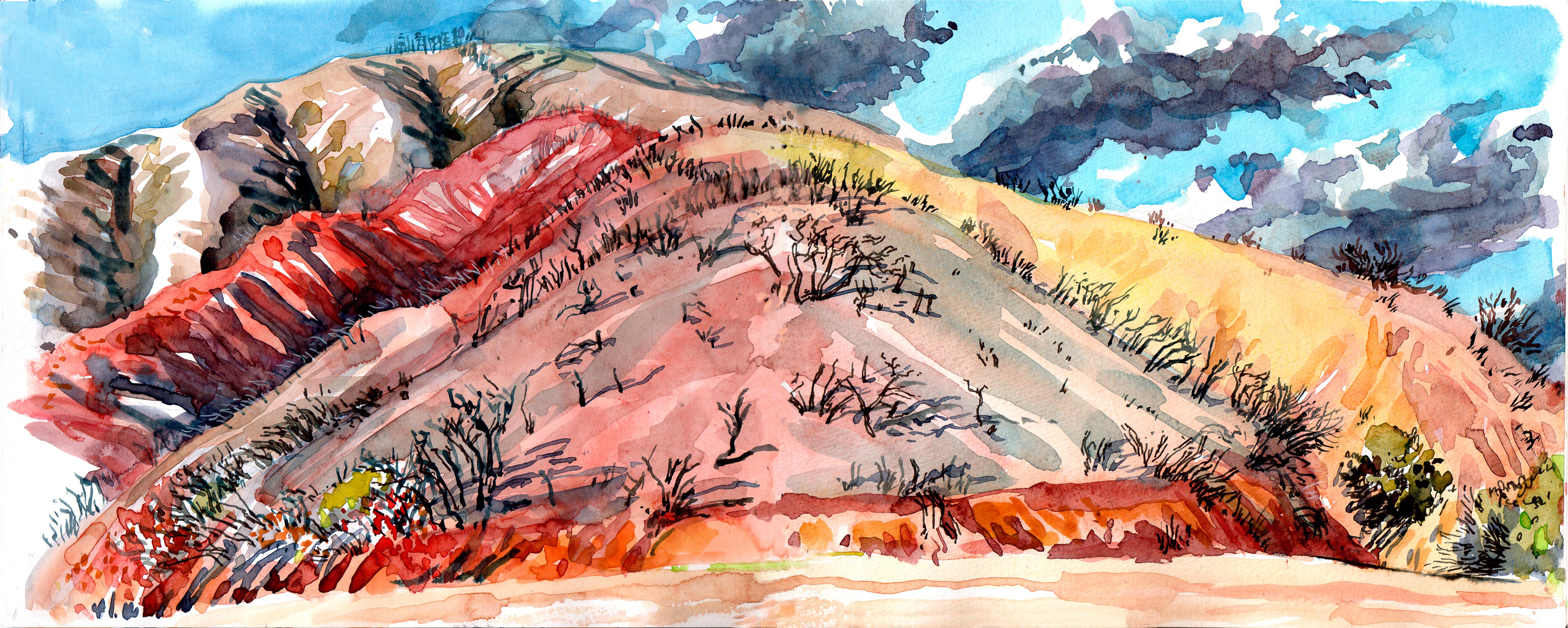Claremont Padua Hills Burn Color