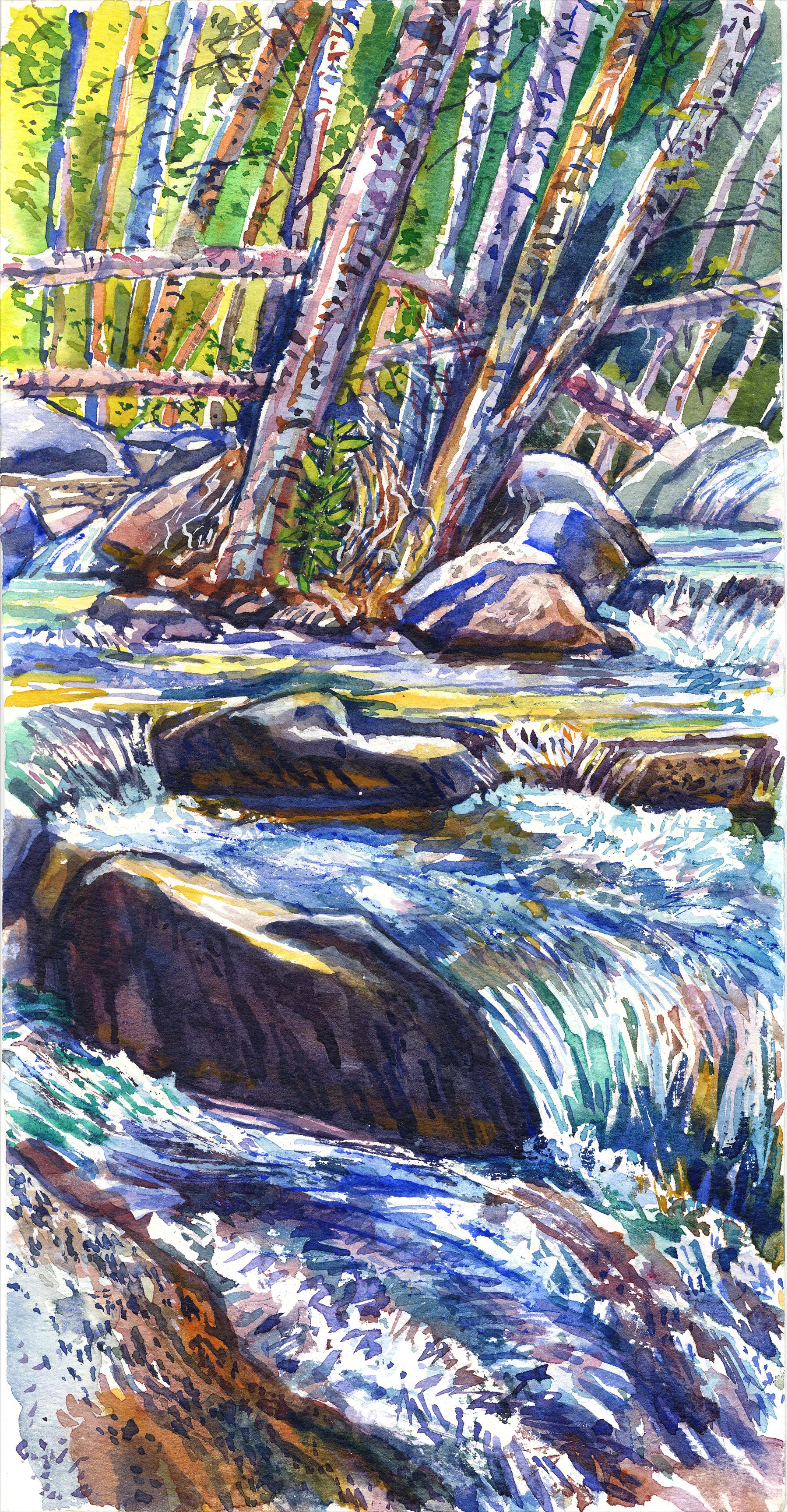 Baldy Cascade Flood Boulders