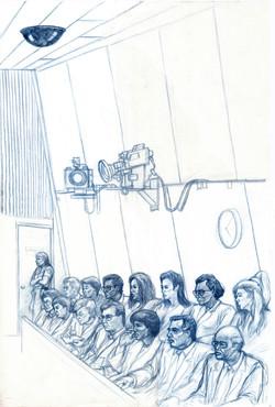 Jury portraits & courtroom
