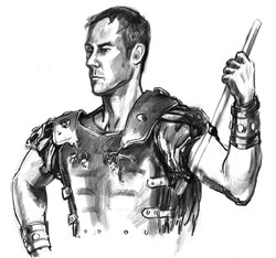 Otis Brant Torso Gladiator