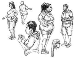 Bowl Big women