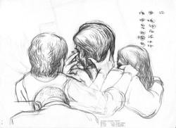 Goldman family crying at testimony