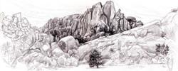 Joshua Tree Hidden Valley Wall