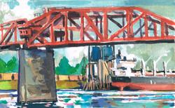 Portland Red Bridge