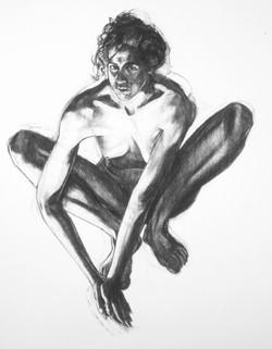 STephanie Crouching Arms