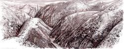 Claremont Cyn Burnt Hills Ink