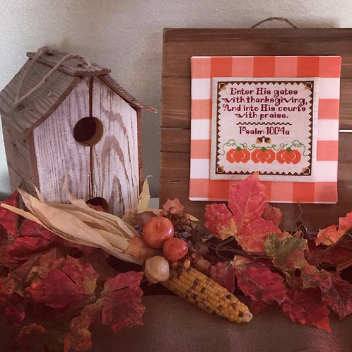 Give Thanks Sampler - PDF Instant Download
