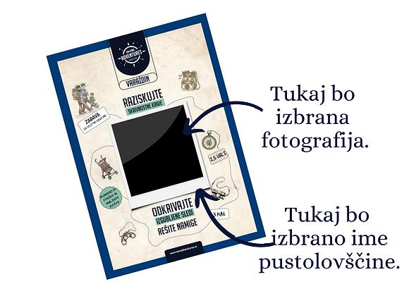 Varaždin - Personalizirana - Zgodba Kamnite Medvedke