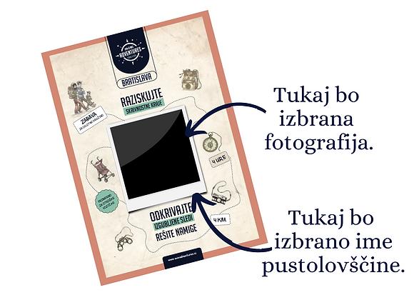 Bratislava - Personalizirana - Velikanova miza