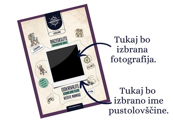 Ljubljana - Personalizirana - Nevidni Zmaj