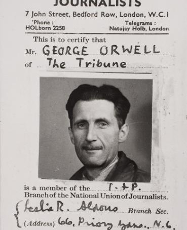 Orwell Youth Prize has now launched – A NEW DIRECTION: STARTING SMALL