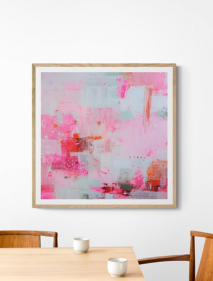 Adventures In Colour 4 // Original painting on canvas  // 80 X 80cm
