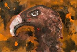 Bird in Brush Fire, 2020