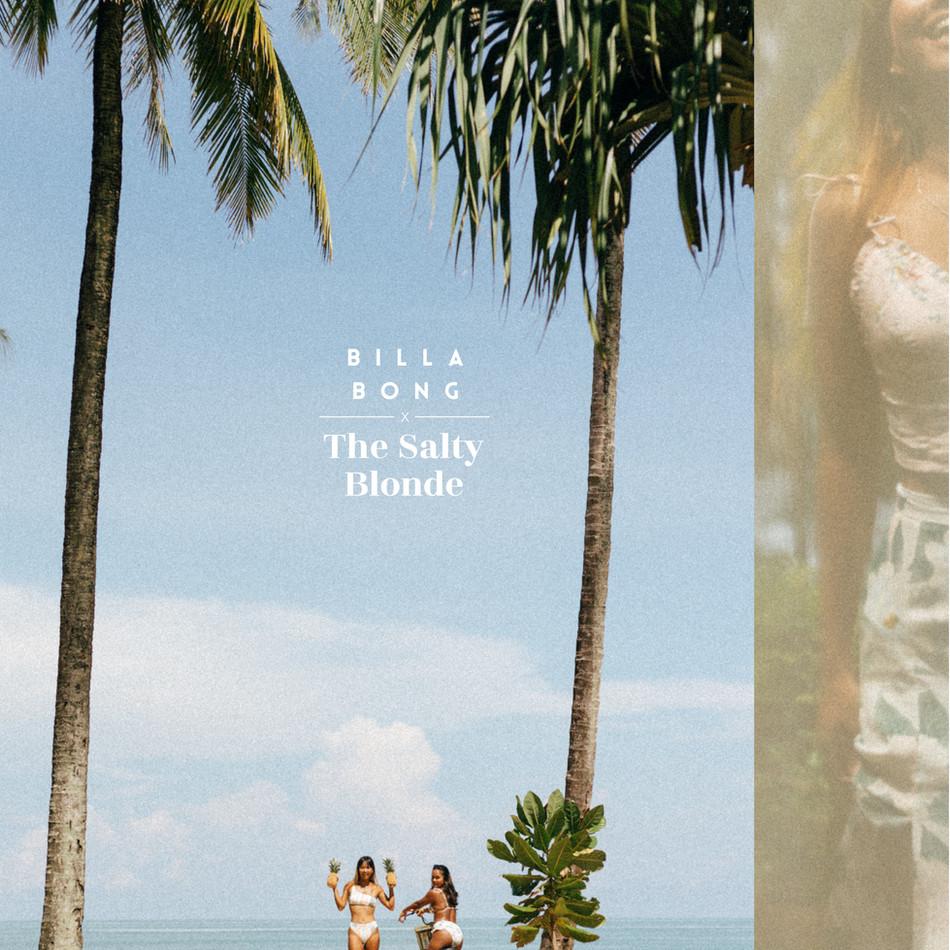 Surfer Fashion: Billabong x The Salty Blonde