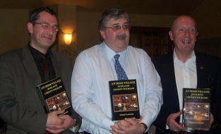 Prof. James Kelly, Dr. Chris Lawlor and Mr. Jimmy Whittle at the launch of