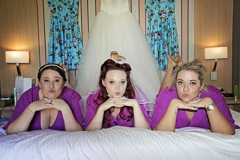 Cassie + her Bridesmaids