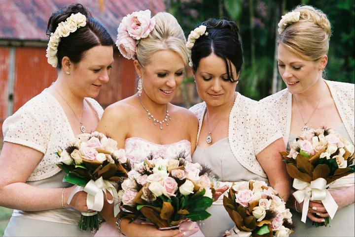 Angela + her Bridesmaids